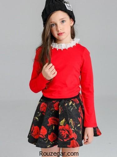 مدل لباس بچه گانه دخترانه پاییزی، مدل لباس بچه گانه دخترانه پاییزی 2018