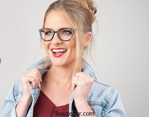 مدل عینک طبی 2018، مدل عینک طبی زنانه