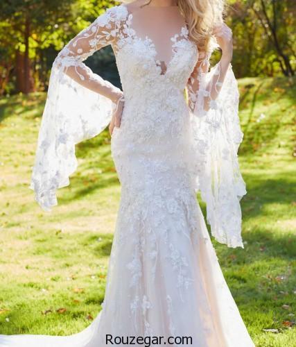 لباس عروس جدید، لباس عروس جدید 2018،لباس عروس جدید ایرانی