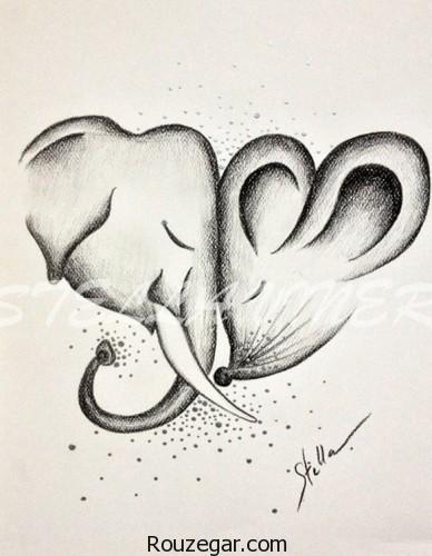 نقاشی با مداد، نقاشی با مداد عاشقانه