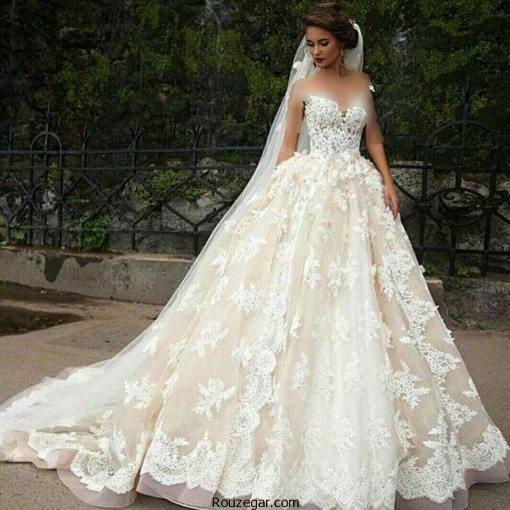 لباس عروس پرنسسی، لباس عروس پرنسسی 2018