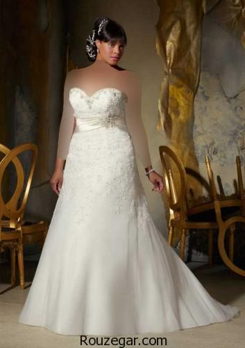 لباس عروس پفی ، لباس عروس پفی 2018