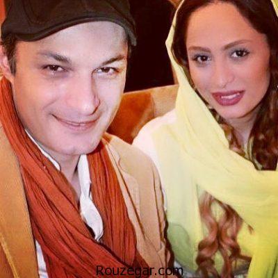 عکس دیده نشده از رامین پرچمی و همسرش شفق میرشب