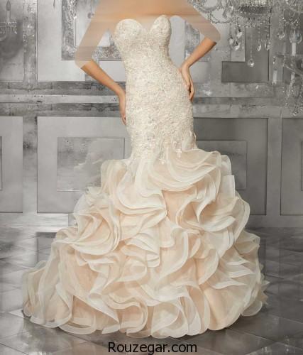 لباس عروس شیک ، لباس عروس شیک ایرانی