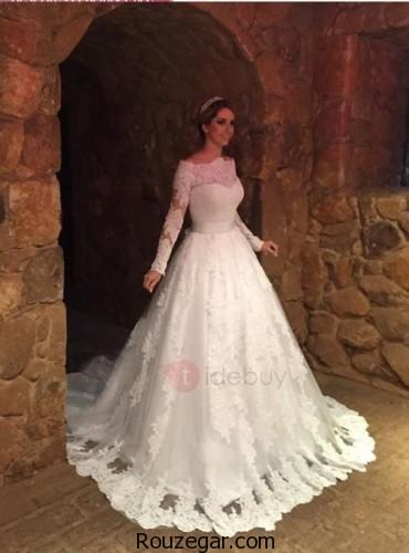 لباس عروس پوشیده، لباس عروس پوشیده 2018