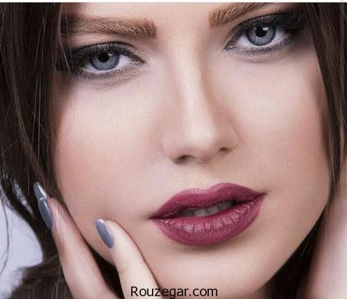 مدل آرایش ساده و شیک