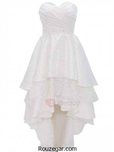لباس عروس کوتاه، لباس عروس کوتاه 2018