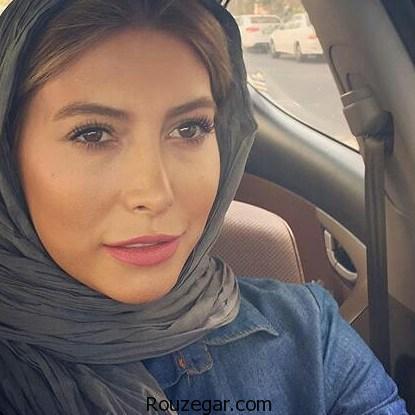 فریبا نادری از همسر جدیدش باردار است + عکس