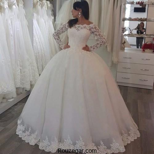 لباس عروس ترکیه ای 2018