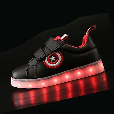 کفش چراغ دار LED، کتونی چراغ دار LED، کفش چراغ دار LED بچه گانه