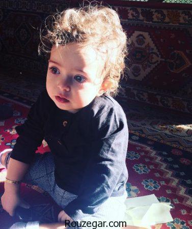 آش خوشمزه آزاده نامداری برای دخترش گندم + عکس