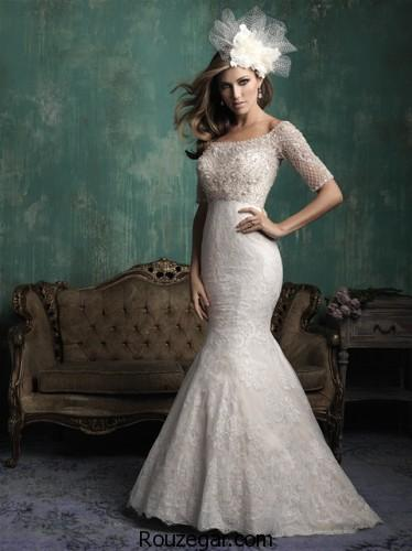 لباس عروس آستین دار، مدل لباس عروس آستین دار