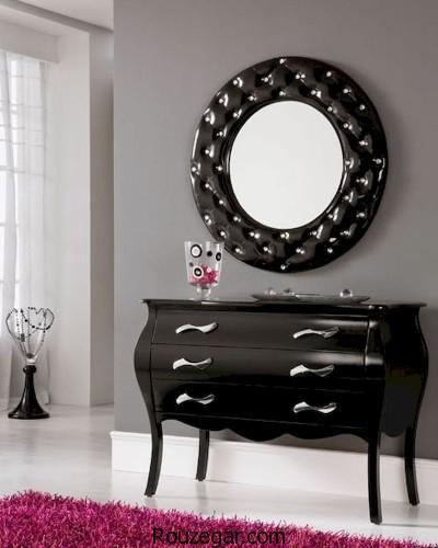 میز کنسول و آینه مدرن، مدل میز کنسول و آینه مدرن