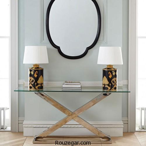 میز کنسول، میز کنسول و آینه