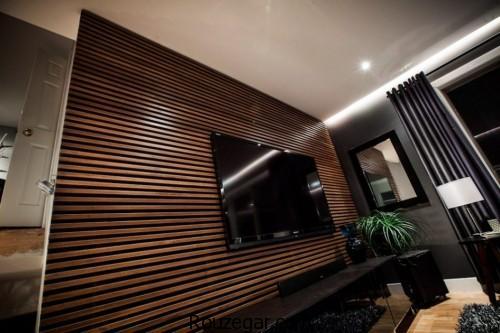 دیوار چوبی تزیینی، دیوار چوبی تزیینی منزل