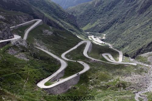 عکس از جاده ها،زیباترین جاده ها در دنیا