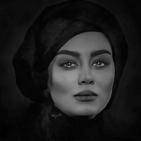 عکس هنری سحر قریشی بازیگر زن معروف