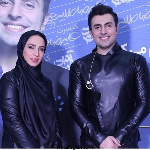 سوگل طهماسبی در کنسرت علیرضا طلیسچی