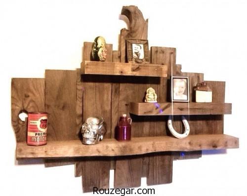 قفسه های چوبی، قفسه های چوبی دیواری
