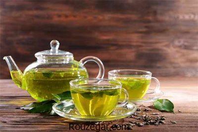 خواص قرص چای سبز،خواص ماسک چای سبز،عوارض مصرف زیادچای سبز