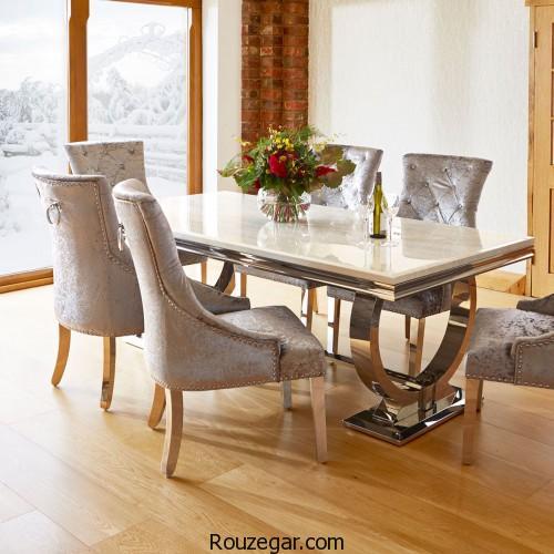 میز ناهارخوری، میز ناهارخوری گرد، میز ناهارخوری مستعطیل