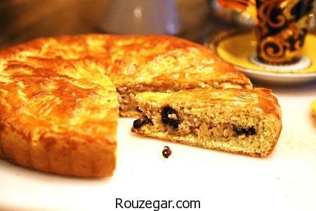 نان گاتا,طرز تهیه نان گاتا کره ای,طرز تهیه نان گاتا گردویی