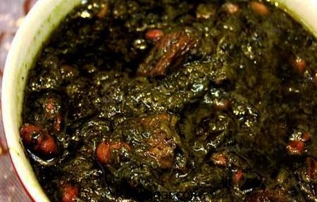 سبزی قورمه,طرز تهیه سبزی قورمه با مرغ,آموزش پخت سبزی قورمه مجلسی