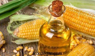 خواص روغن ذرت در بارداری،خواص روغن ذرت در طب سنتی،بهترین خواص روغن ذرت