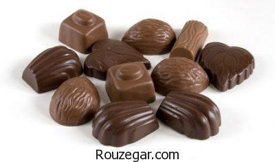 خواص شکلات کاکائویی،خواص شکلات برای کودکان،خواص شکلات برای زنان باردار