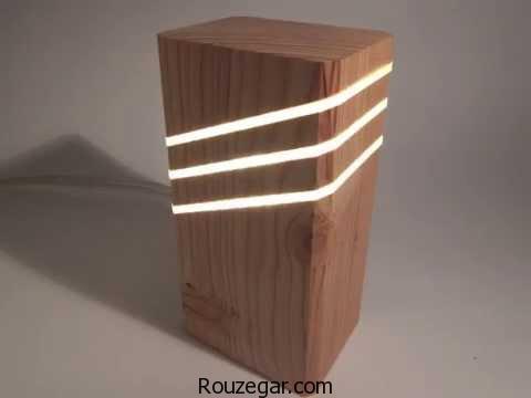 آباژور چوبی،مدل  آباژور چوبی