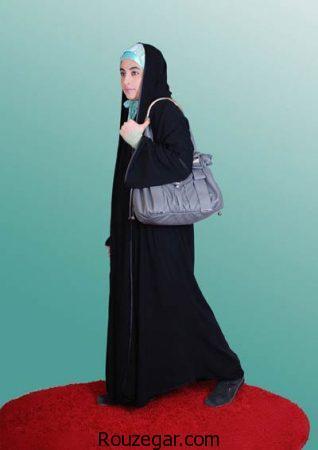 انواع مدل چادر مشکی عربی و ملی دانشجویی زنانه