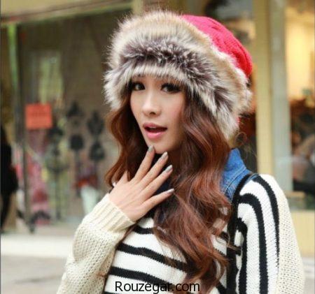 مدل کلاه ، مدل کلاه زمستانی، مدل کلاه زنانه