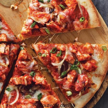 پیتزا پپرونی,طرز تهیه پیتزا پپرونی ایتالیایی,آمزوش پخت پیتزا پپرونی ویژه