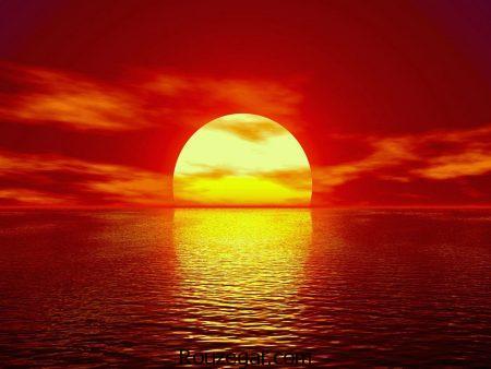 عکس خورشید، عکس طلوع و غروب خورشید
