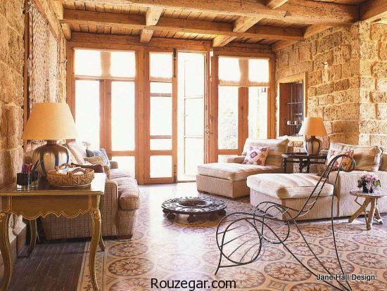 سبک روستیک، طراحی سبک روستیک، معماری سبک روستیک