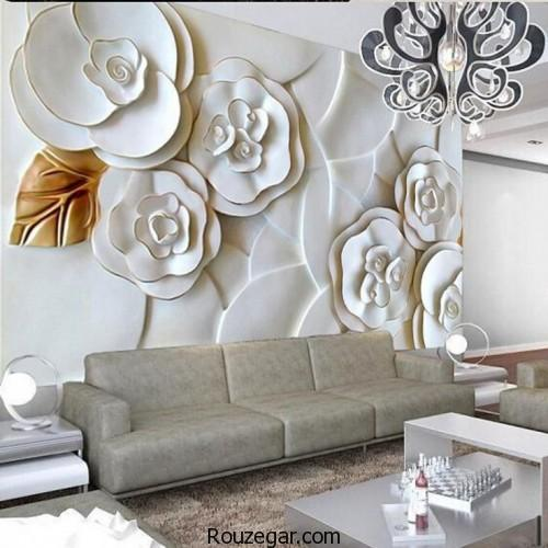 کاغذ دیواری سه بعدی،مدل کاغذ دیواری سه بعدی