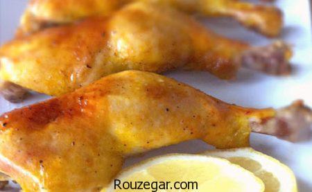 مرغ زعفرانی,طرز تهیه مرغ زعفرانی رستورانی,آموزش مرغ زعفرانی مجلسی