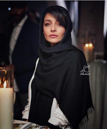 ساره بیات در مراسم اکران خصوصی فیلم زرد