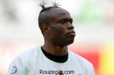 مدل موهای عجیب،  مدل موهای عجیب بازیکنان فوتبال