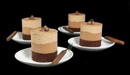 موس قهوه,طرز تهیه موس قهوه و شکلات,آموزش موس قهوه ایتالیایی