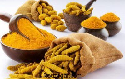 خواص زردچوبه,خواص زردچوبه در طب سنتی,خواص زردچوبه در لاغری,خواص زردچوبه برای پوست