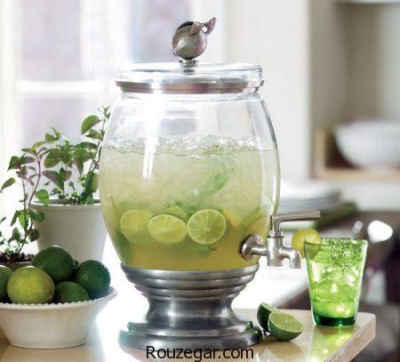 شربت لیموناد,طرز تهیه شربت لیموناد خانگی,شربت لیموناد نعنایی,شربت لیموناد با نعناغ,طرز تهیه شربت لیموناد