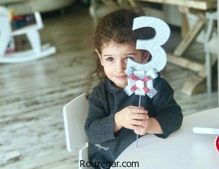 جشن تولد سه سالگی نگاه دختر محسن یگانه + عکس