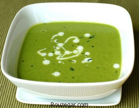 سوپ نخود,طرز تهیه سوپ نخود فرنگی,آموزش سوپ نخود رژیمی