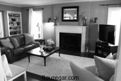 دکوراسیون سیاه و سفید، دکوراسیون سیاه و سفید برای منزل