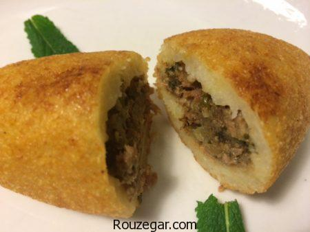 کوبه لبنانی,طرز تهیه کوبه لبنانی خانگی,آموزش کوبه لبنانی خوشمزه