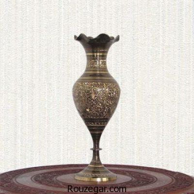 مدل گلدان برنجی، انواع مدل گلدان برنجی