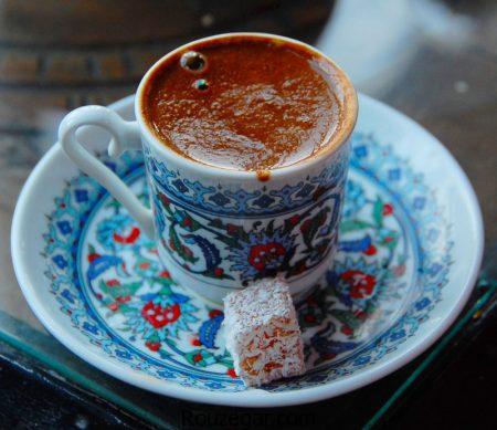 قهوه ترک,طرز تهیه قهوه ترک با شیر,آموزش قهوه ترک خوشمزه خانگی