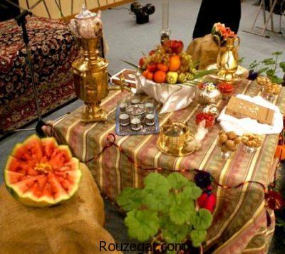 تزیینات شب یلدا، تزیینات شب یلدا مخصوص عروس
