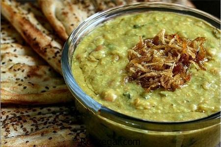 آش سبزی,طرز تهیه آش سبزی شیرازی,آموزش آش سبزی خوشمزه با گوشت
